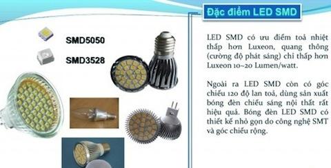 Đèn LED là gì, LED Oval là gì, LED Luxeon là gì, LED SMD là gì, LED COB là gì, chip LED COB, ưu điểm của đèn led, tuổi thọ của đèn LED, phân phối chính đèn chiếu sáng đèn led