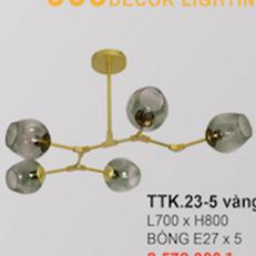 Đèn chùm hiện đại CTK2 TTK.23-5 Ø700xH800 - Copy