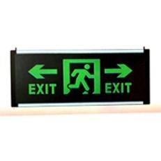 Đèn Exit chỉ hai hướng