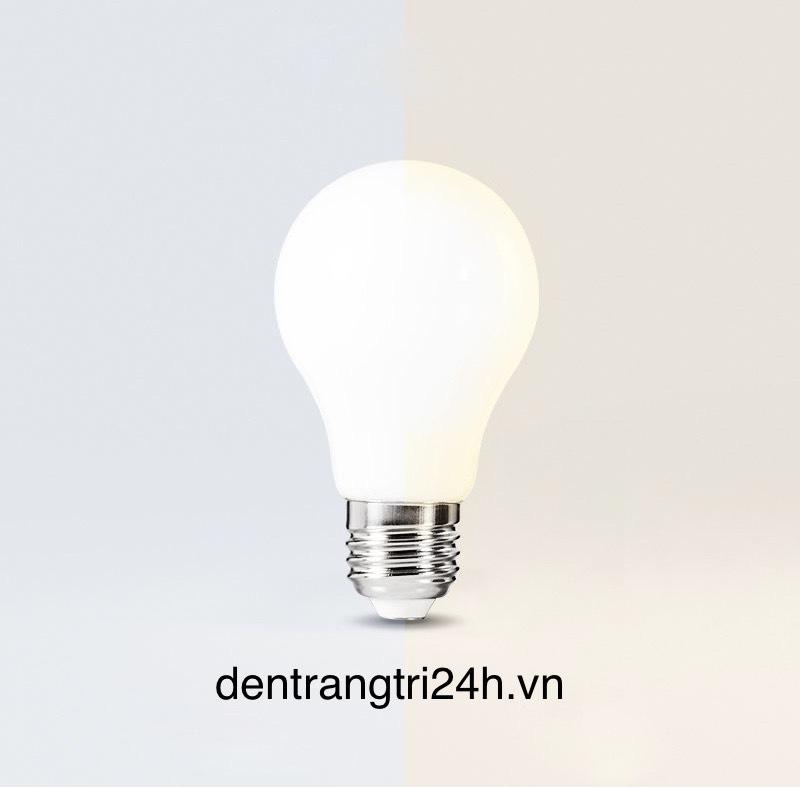Bóng đèn led thuỷ tinh trắng đục A60 -4w