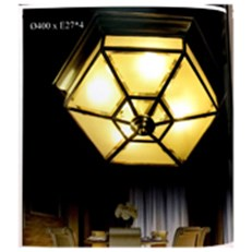 Đèn Áp Trần Đồng PT5 OD690 Ø400