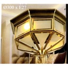 Đèn Áp Trần Đồng VE1 MĐ-7030/2 Ø300
