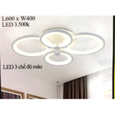 Đèn Áp Trần LED PT4 MO917 L600