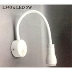 Đèn Tường Led PT4 RO1406 L340 -3w 2 màu đen, trắng