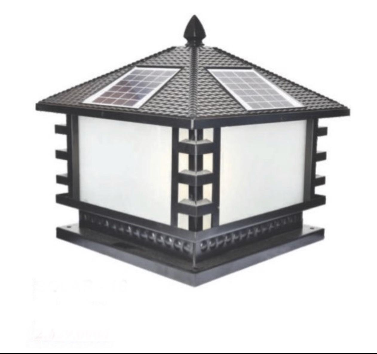Đèn trụ cổng năng lượng mặt trời CT1 Solar-16  L400xH350