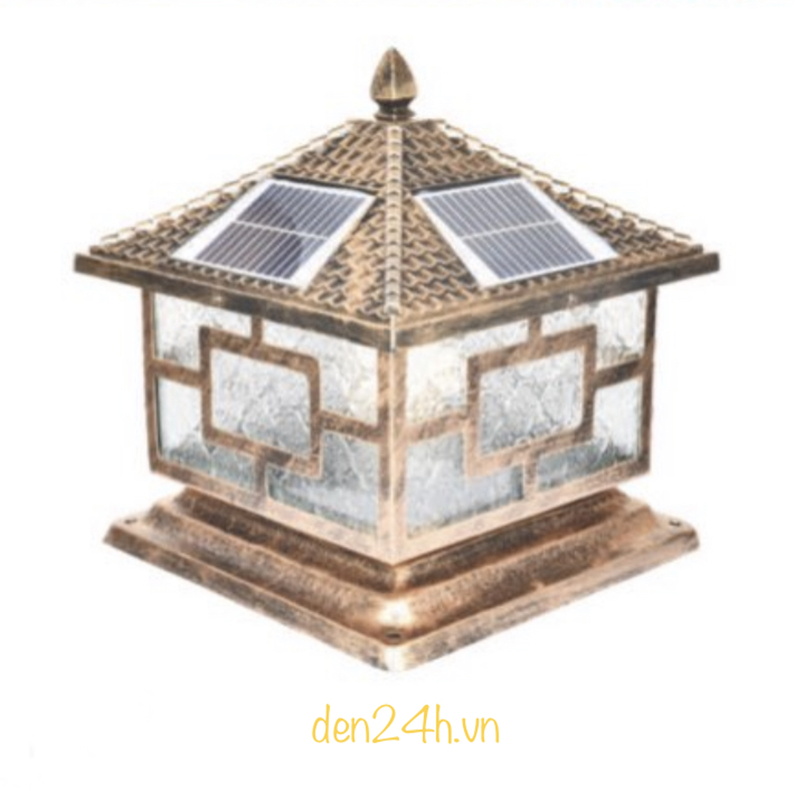 Đèn trụ cổng năng lượng mặt trời CT1 Solar-20  L400xH350