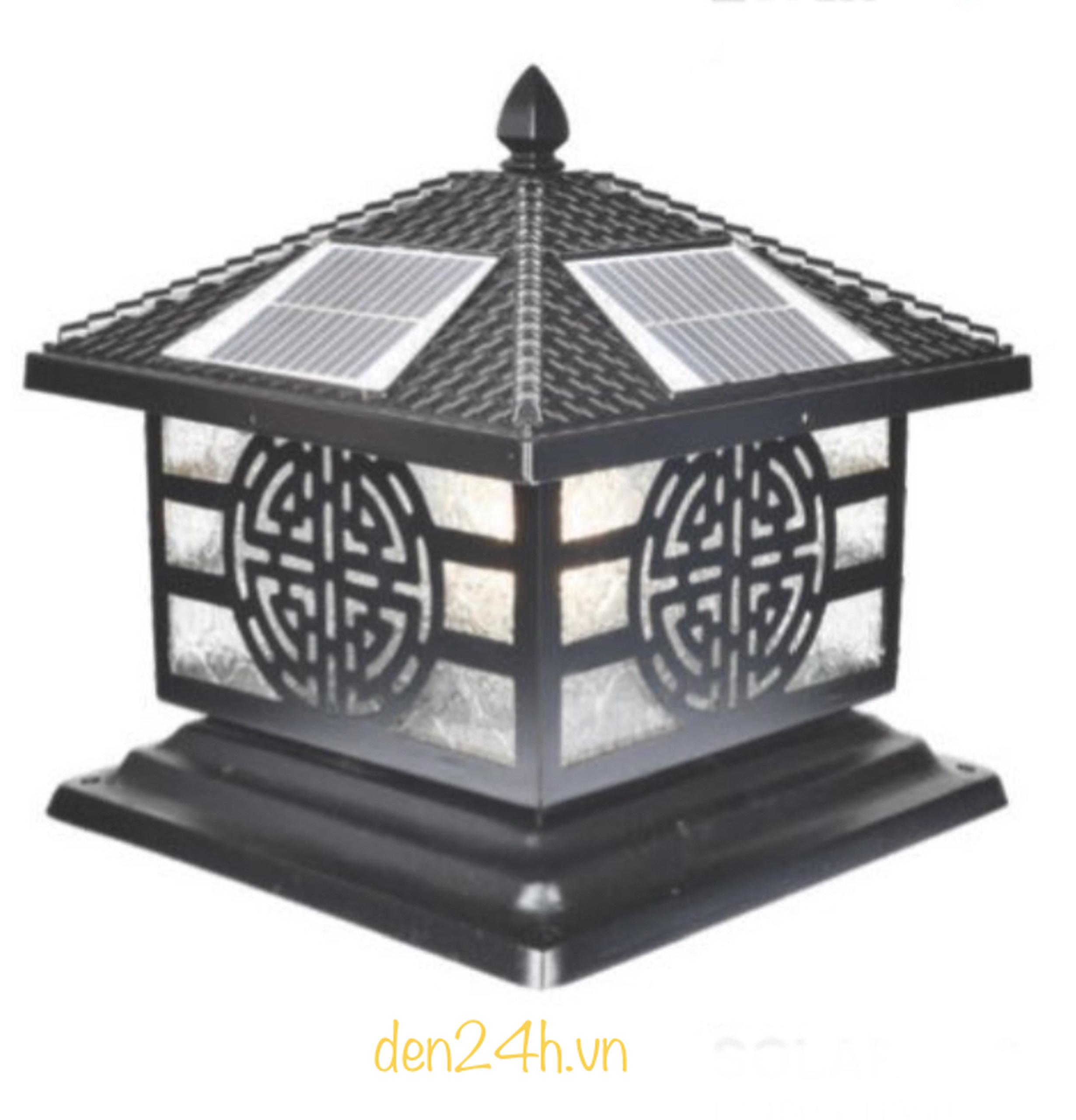 Đèn trụ cổng năng lượng mặt trời CT1 Solar-32  L400xH350