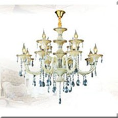 Đèn Chùm Pha Lê Nến DH CN 3099/12 Ø800xH830