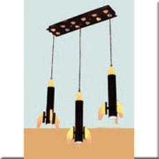 Đèn Thả Phòng Bé WQ1 TL 7568/3 L600xW200xH1000