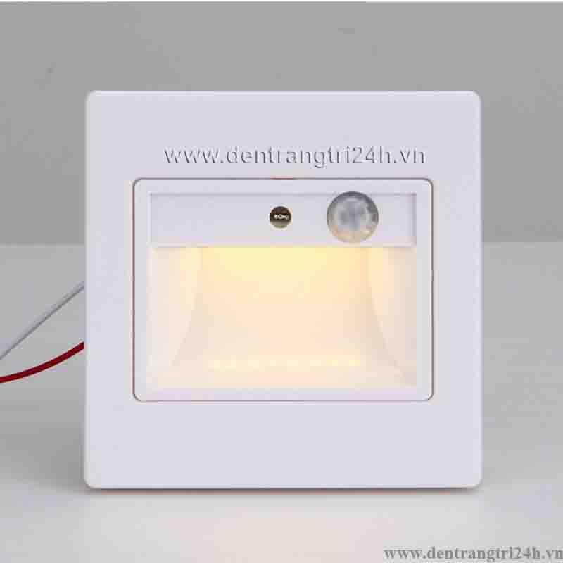 Đèn Âm Cầu Thang LED Cảm Ứng PT5 ACT 625-19 W86xL86