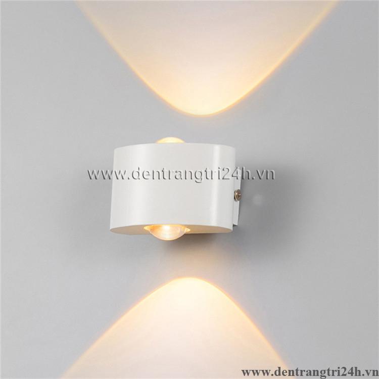 Đèn Vách Ngoại Thất PT5 VNT 618-19 trắng L80xW70