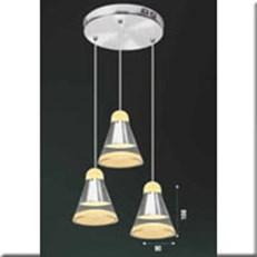 Đèn Thả Thủy Tinh BKT T 1243/3 Ø240