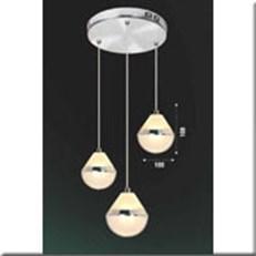 Đèn Thả Thủy Tinh BKT T 1246/3 Ø240