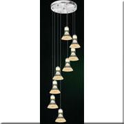 Đèn Thả Thủy Tinh BKT T 1249/8 Ø400
