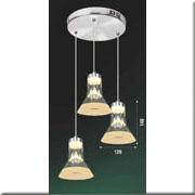 Đèn Thả Thủy Tinh BKT T 1249/3 Ø240