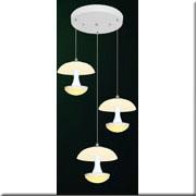 Đèn Thả Thủy Tinh BKT T 1188/3 Ø240