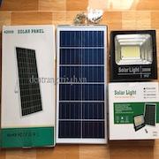 Đèn pha năng lượng mặt trời LED AM NLMT60w
