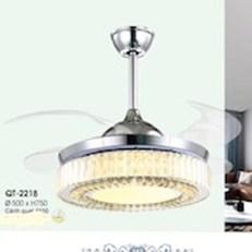 Đèn Quạt Cánh Xếp VE1 QT-2218 Ø500