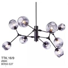 Đèn Chùm Nghệ Thuật CTK2 TTK.16/9 Ø800
