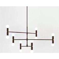 Đèn Chùm Nghệ Thuật CTK2 TTK.19-6 Ø800xH900