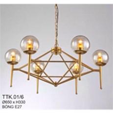 Đèn Thả Nghệ Thuật CTK2 TTK.01/6 Ø650xH330
