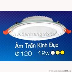 Đèn Led Âm Trần 12W H2 64 Ø120
