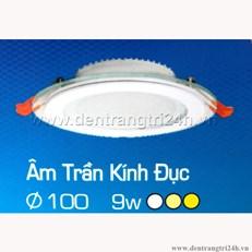 Đèn Led Âm Trần 9W H2 65 Ø100