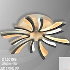 Đèn Áp Trần LED CTK5 OT.5019/6 Ø800xH70