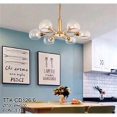 Đèn Thả Nghệ Thuật CTK5 TTK.CD126/6 Ø700xH300