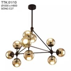 Đèn Chùm Nghệ Thuật CTK2 TTK.01/10 Ø1000xH800