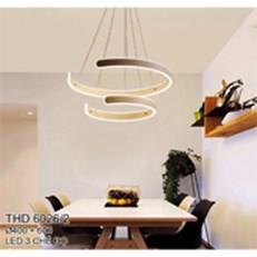 Đèn Thả Bàn Ăn CTK2 THD.6026/2 Ø400+600