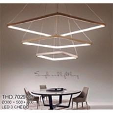 Đèn Thả Nghệ Thuật CTK5 THD.7029V/3 Ø300-500-700
