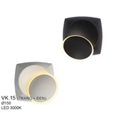 Đèn Ốp Tường LED CTK5 VK.15 Ø150