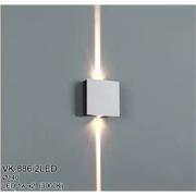 Đèn Ốp Tường LED CTK5 VK.886/2LED Ø140