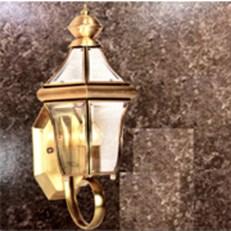 Đèn Tường Đồng KP4 B6022 200x200x400