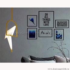 Đèn Thả Nghệ Thuật CTK THD.05/1 L200xH500