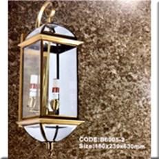 Đèn Tường Đồng KP4 B6005-2 180x230x630