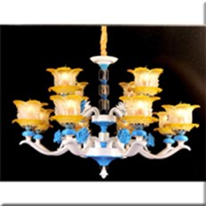 Đèn Chùm Châu Âu KP4 1805-12 Ø1000xH800