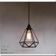 Đèn Thả Bàn Ăn CTK5 TCF.31 Ø200