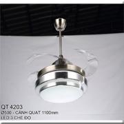 Đèn Quạt Cánh Xếp CTK5 QT.4203 Ø500