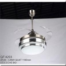 Đèn Quạt Cánh Xếp CTK2 QT.4203 Ø500