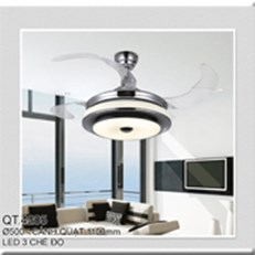 Đèn Quạt Cánh Xếp CTK2 QT.4205 Ø500