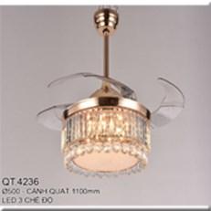 Đèn Quạt Cánh Xếp CTK2 QT.4236 Ø500