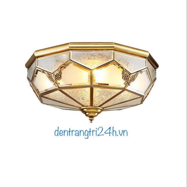 Đèn Áp Trần Đồng PT5 OD698 Ø350