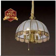 Đèn Thả Đồng HP1 TĐ9016/5 Ø420xH450+500