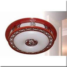 Đèn Ốp Trần Gỗ HP1 OTG 03 Ø520
