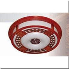 Đèn Ốp Trần Gỗ HP5 OTG 08 Ø520