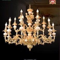 Đèn Chùm Đồng VE1 CĐ-4980/18 Ø1050xH880