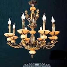 Đèn Chùm Đồng VE1 CĐ-3260/8 Ø780xH680