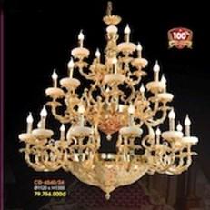 Đèn Chùm Đồng VE1 CĐ-6540/24 Ø1120xH130